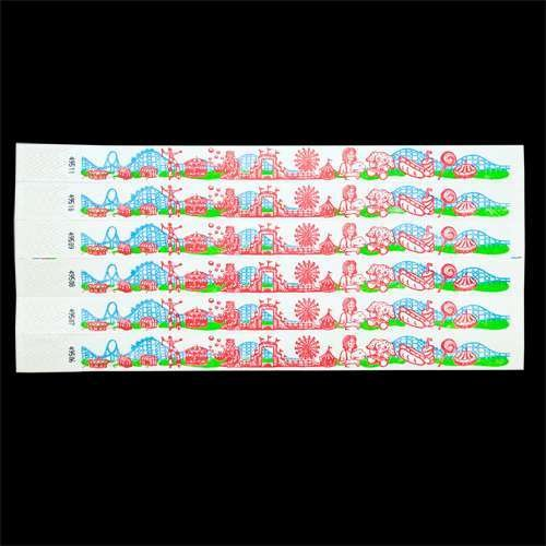 Wrist Tickets – Carnival Theme Design – 100 tickets per order, Health Care Stuffs