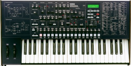 - Korg MS2000 44 Key Analog Modeled Synthesizer MS 2000