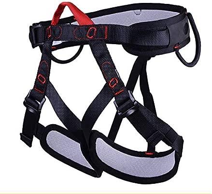 ZBHW Arnés de Escalada Cinturón de Seguridad de Medio Cuerpo para ...