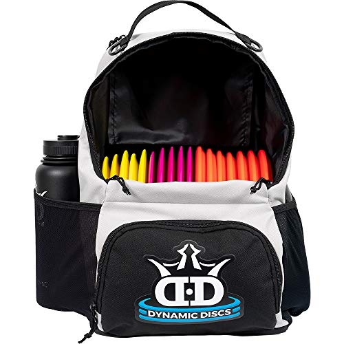 Dynamic Discs Cadet Disc Golf Backpack | Gray/Black | Frisbee Disc Golf Bag with 17+ Disc Capacity | Introductory Disc Golf Backpack | Lightweight and Durable ...