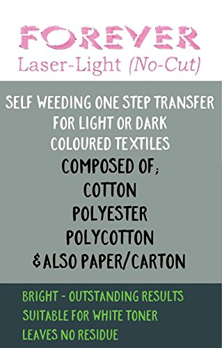 No-Cut Laser Light FOREVER TRANSFER PAPER 50 x A4