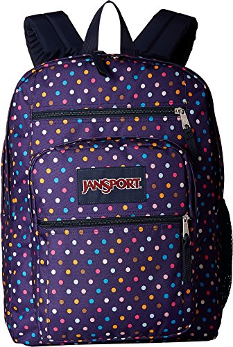 Colour Spot (JanSport Big Student Backpack- Sale Colors (Purple Spot-O-Rama))