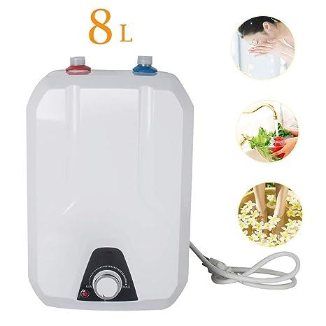 Amazon.com: Calentador de agua eléctrico instantáneo 110 V/1 ...