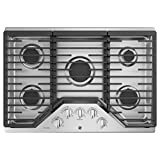 ge 30 gas 5 burner cooktop - GE Profile PGP7030SLSS 30 Inch Natural Gas Sealed Burner Style Cooktop with 5 Burners in Stainless Steel