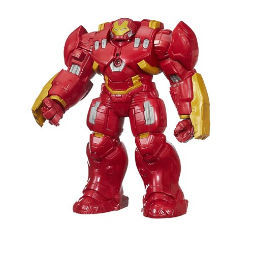 Marvel Avengers Titan Hero Tech Interactive Hulk Buster 12 Inch Figure(Discontinued by manufacturer) (Avengers Age Of Ultron Titan Hero Tech)