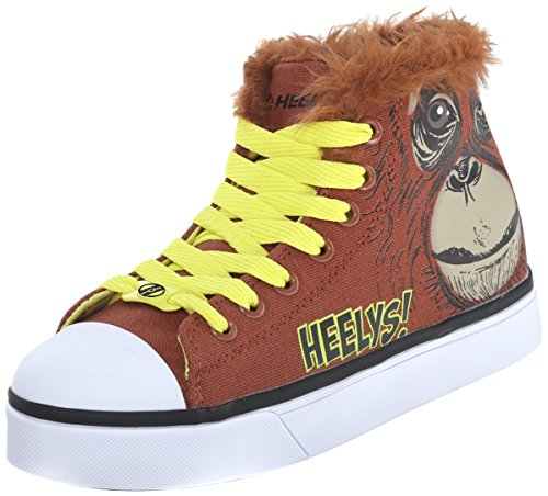 Heelys Zoo Crew Skate Shoe (Little Kid/Big Kid), Orangutan, 12 M US Little Kid