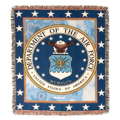 Air Force Tapestry Throw ()