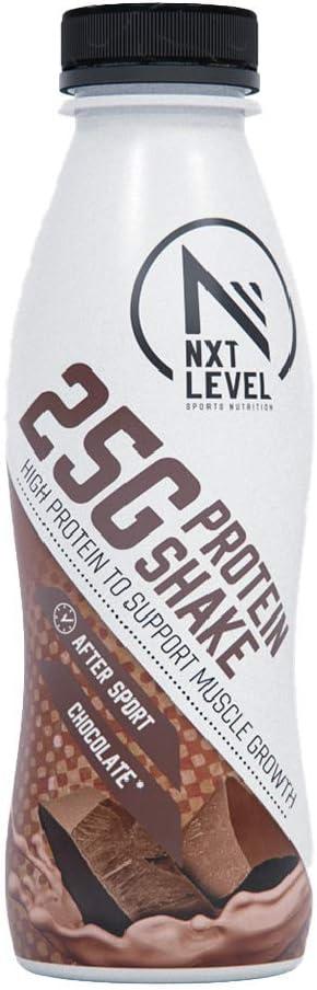 NXT Level Batido De Proteína - Chocolate 330 ml: Amazon.es ...