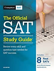 Review every skill and question type needed for SAT success – now with eight total practice tests.       The 2018 edition of The Official SAT Study Guide doubles the number of official SAT® practice tests to eight – all of them created...