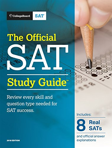 The Official SAT Study Guide, 2018 Edition (Official Study Guide for the New Sat) cover