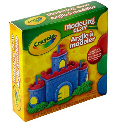 Crayola 57-0300 Assorted Colors Modeling Clay 4 - Classpack Model Clay Magic