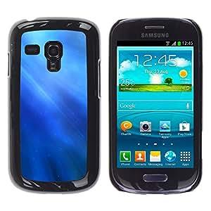 TopCaseStore / la caja del caucho duro de la cubierta de protección de la piel - Nature Fish Friends - Samsung Galaxy S3 MINI NOT REGULAR! I8190 I8190N