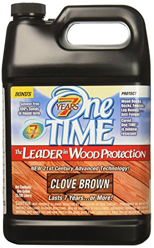 BOND DISTRIBUTING LTD 00400 00400 Gallon Brown Wood Stain/Sealer, 4 g