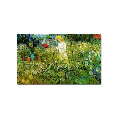 - Marguerite Gachet in the Garden By Vincent Van Gogh Sticker