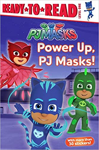 Amazon.com: Power Up, PJ Masks! (9781534430792): Delphine Finnegan: Books