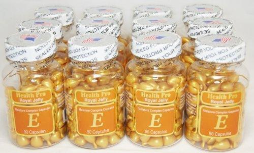 Nu-Health Royal Jelly Vitamin E Moisture Complex (90 Capsules) - 12 Pack