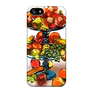 Awesome Fruits Flip Case With Fashion Design For Iphone 5/5s