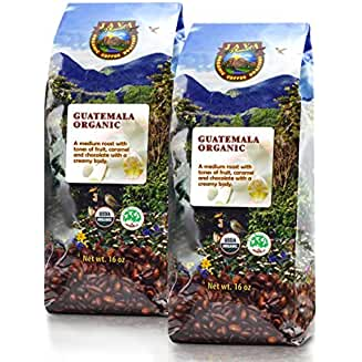 Java Planet - Guatemalan USDA Organic Coffee Beans (our Best Shade Grown Coffee Beans)