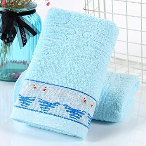 LybMaoJ Toalla de algodón algodón Boda Cisne, Azul, 75 * 35 * 2 ...