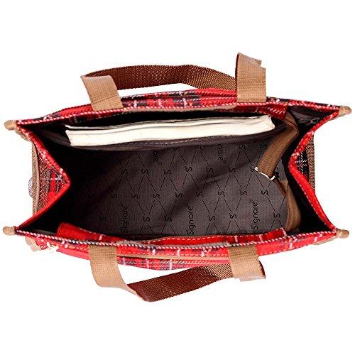 différents Signare Tapisserie Tartan New des Femme Sac Cabas la de modèles Mode d'épaule Maison Stuart 0rWWzRdn
