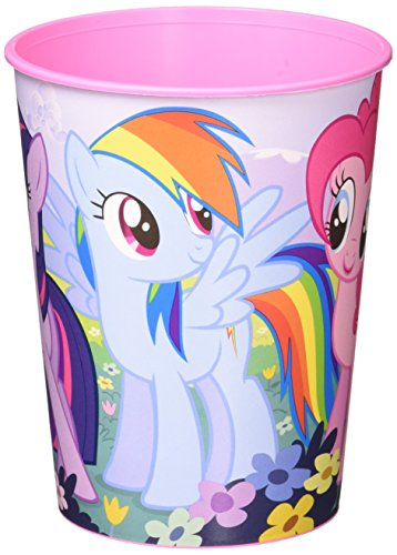 Amscan (Amsdd Birthday Party Plastic Cup Favour (Piece), Multicolor, 12