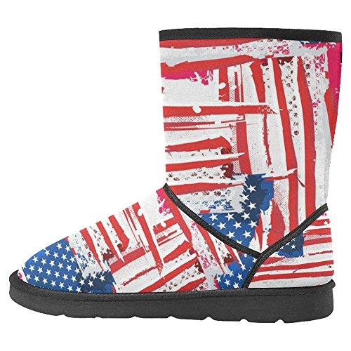 Unique 31 Designed Winter InterestPrint Multi Snow Womens Comfort Boots Boots zIqwAwtO