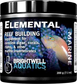 Brightwell Aquatics Elemental - Dry Reef-Building Complex for Corals, Clams, etc. 400g / 14.1oz