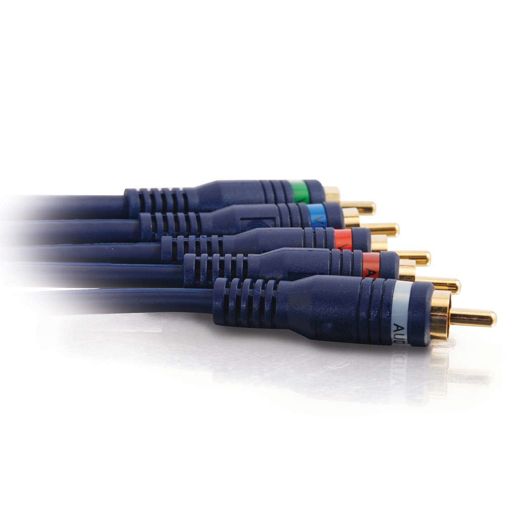 C2G 1m Velocity Component Video//RCA-Type Audio Combination Cable componente Componentes ypbpr Cables de v/ídeo 1 m, 5 x RCA, 5 x RCA, Macho, Macho, Oro Cable de v/ídeo 5 x RCA Negro YPbPr