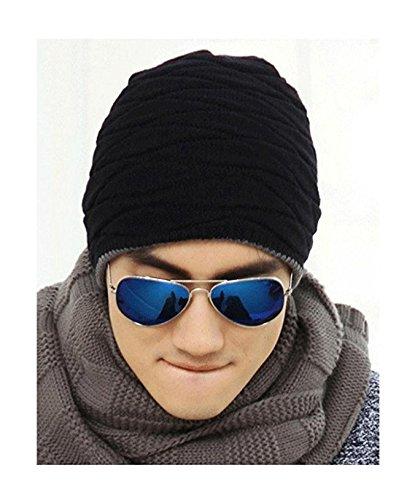 de punto esquí de nbsp;hombre gorro fulla2116 invierno lana térmica cálido Wv0xnqC