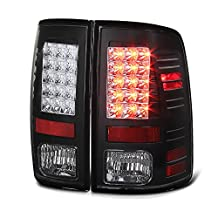 VIPMotoZ 2009-2017 Dodge RAM 1500 2500 3500 LED Taillights Taillamps, Driver and Passenger Side