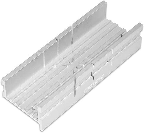 FIRSTINFO - Caja de ingletes de aluminio para sierra manual ...