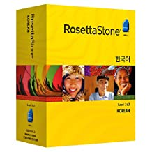 Rosetta Stone Korean Level 1 & 2 Set with Audio Companion