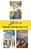 Harlequin Love Inspired August 2016 - Box Set 1 of 2: A Beau for Katie\Her Unexpected Family\Small-Town Girl