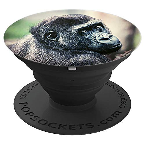Pop Socket Cute Chimpanzee Monkey Wild - PopSockets Grip and Stand for Phones and Tablets