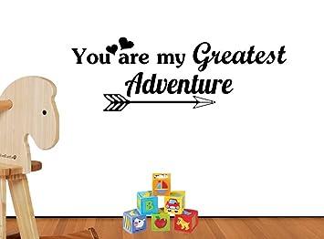 Amazoncom You Are My Greatest Adventure Arrow Cute Playroom