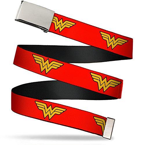 Buckle-Down Web Belt Wonder Woman 1.25