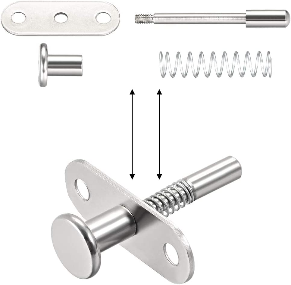 WN 717.10 Series Stainless Steel Non Lock-Out Type Stubby Hand Retractable Sp...