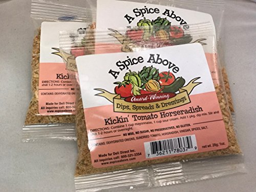 A Spice Above Kickin' Tomato Horseradish (3 Pack)