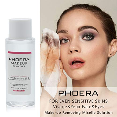 Gallity 50ml PHOERA High Performance Cleansing and Make-Up Removing Solution For Face Lip Eye ()