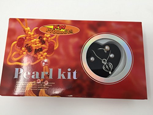 Clam Kit (KW Products Harvest Your Own Pearl - Earrings, Ring, and Pendant)