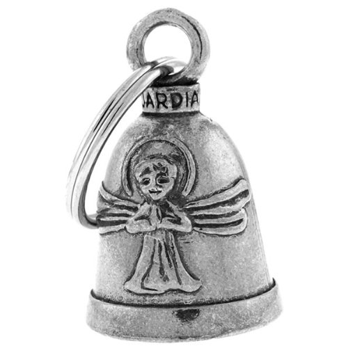 ANGEL Guardian® Bell Motorcycle - Harley Accessory HD Gremlin NEW Riding Bell Key Ring Mod Dyna FXR Custom Triumph Heritage Sportster Chopper 1200 Iron 880 Vulcan Goldwing Honda Yamaha Kawasaki Sport Street Road Warrior