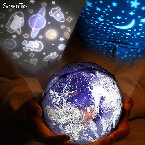 Qiong Yao TIAN Luz Nocturna Viajes espaciales Proyección LED Luz ...