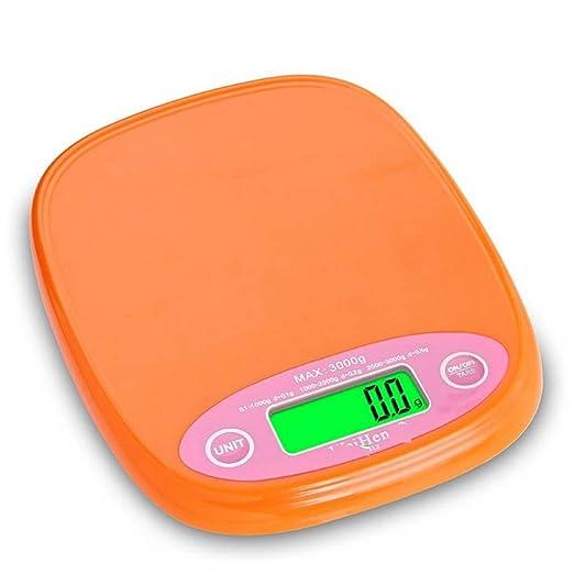 Kitchen Scale Pesaje electrónico de la Escala de la Cocina 0.1g de precisión de Escalera de la casa Escalas de pesaje de Alimentos balanzas electrónicas de ...