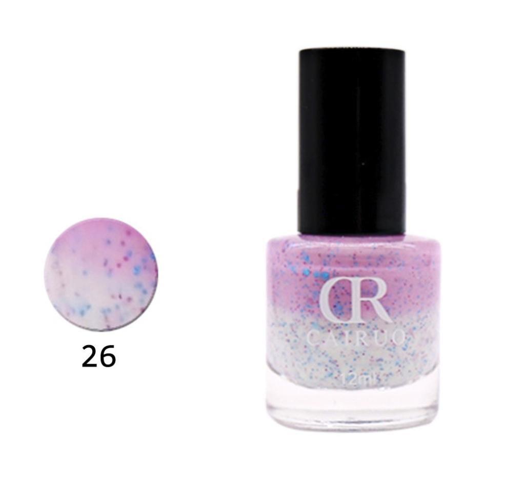 Color Changing Nail Polish, Witspace Fashion Nail Oil-12ML Nontoxic Nail Art (Z)