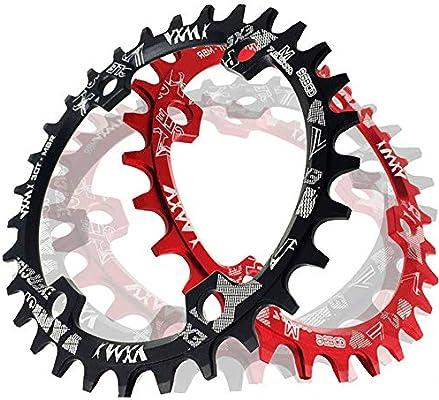 YyZCL Plato de Bicicleta Narrow Wide Plato de Bicicleta de ...