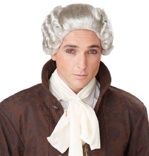 18th Century Peruke Wig Costume Accessory