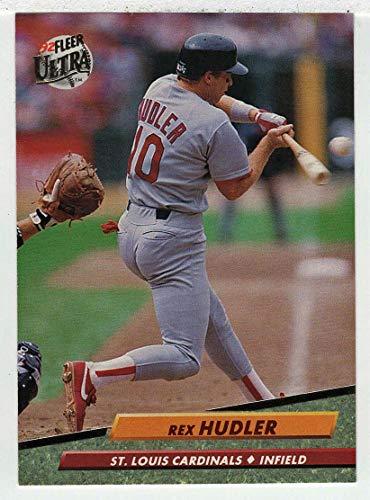 Rex Hudler Baseball Card 1992 Fleer Ultra 568 Nmmt