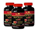 Energy Drink - Blood Pressure Support 690 MG - Energy Boost Vitamin Supplement - 180 Capsules (3 Bottles)