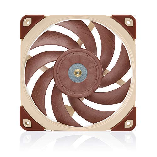 Noctua NF-A12x25 5V, Premium Quiet Fan with USB Power Adaptor Cable, 3-Pin, 5V Version (120mm, Brown) ()