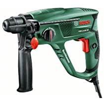 Bosch PBH 2100 RE - Martillo perforador, empuñadura antivibraciones, 550 W, color negro y verde